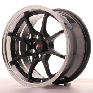 Japan Racing JR5 15x8 ET28 4x100 Gloss Black