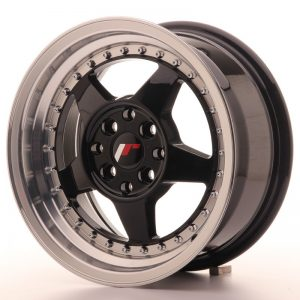 Japan Racing JR6 15x7 ET35 4x100/114 Glossy Black