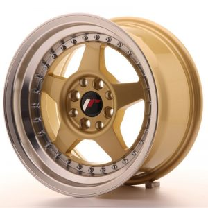 Japan Racing JR6 15x8 ET25 4x100/108 Gold