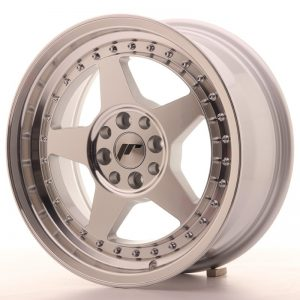 Japan Racing JR6 16x7 ET35 4x100/114 Mach Silver
