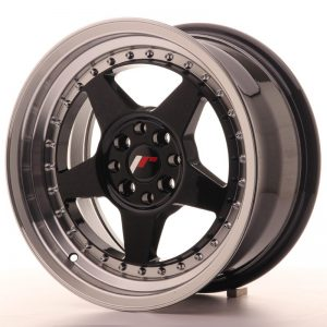Japan Racing JR6 16x8 ET30 4x100/114 Glossy Black