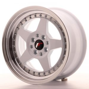 Japan Racing JR6 16x8 ET25 4x100/108 White