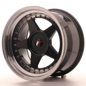 Japan Racing JR6 17x10 ET20 Blank Glossy Black