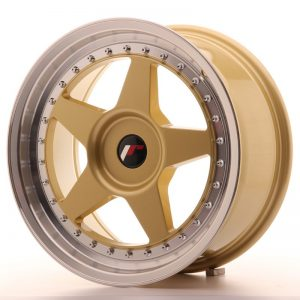 Japan Racing JR6 17x8 ET35 Blank Gold