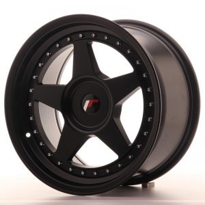 Japan Racing JR6 17x9 ET20-35 Blank Matt Black