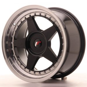 Japan Racing JR6 17x9 ET20-35 Blank Glossy Black