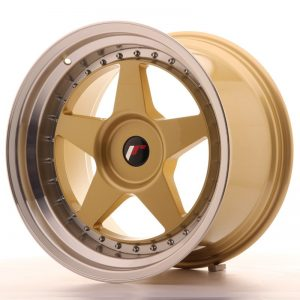 Japan Racing JR6 18x10,5 ET0-25 Blank Gold