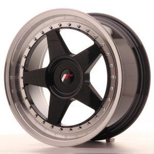 Japan Racing JR6 18x8,5 ET20-40 Blank Glossy Black