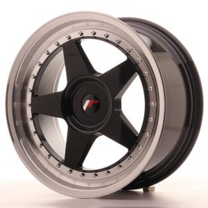 Japan Racing JR6 18x8,5 ET35-40 Blank Glossy Black