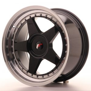 Japan Racing JR6 18x9,5 ET20-40 Blank Glossy Black
