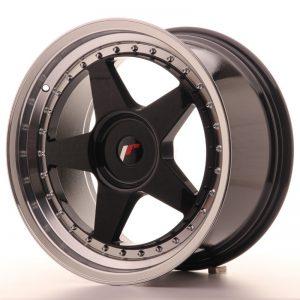 Japan Racing JR6 18x9,5 ET35-40 Blank Glossy Black
