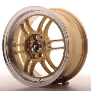 Japan Racing JR7 15x7 ET38 4x100/114 Gold