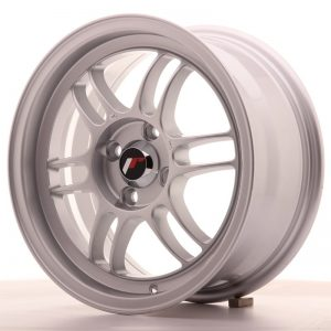 Japan Racing JR7 15x7 ET38 4x100 Silver