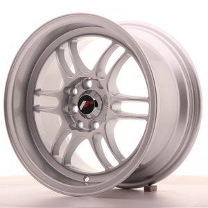 Japan Racing JR7 15x8 ET35 4x100/114 Silver