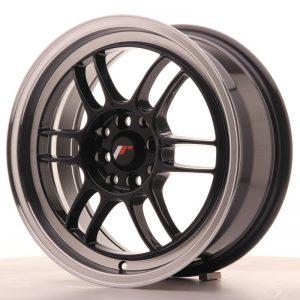 Japan Racing JR7 16x7 ET38 4x100/114 Gloss Black