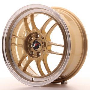Japan Racing JR7 16x7 ET38 4x100/114 Gold