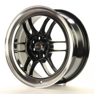 Japan Racing JR7 16x7 ET40 4x100/114 Gloss Black