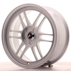 Japan Racing JR7 18x8 ET35 5H Blank Silver