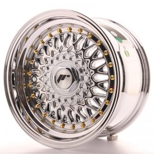 Japan Racing JR9 15x8 ET20 4x100/108 Chrome