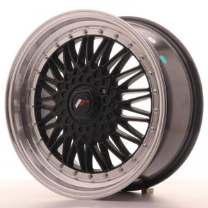 Japan Racing JR9 18x8 ET35-40 Blank Black