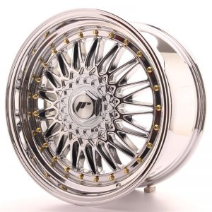 Japan Racing JR9 18x9 ET20-40 Blank Chrome